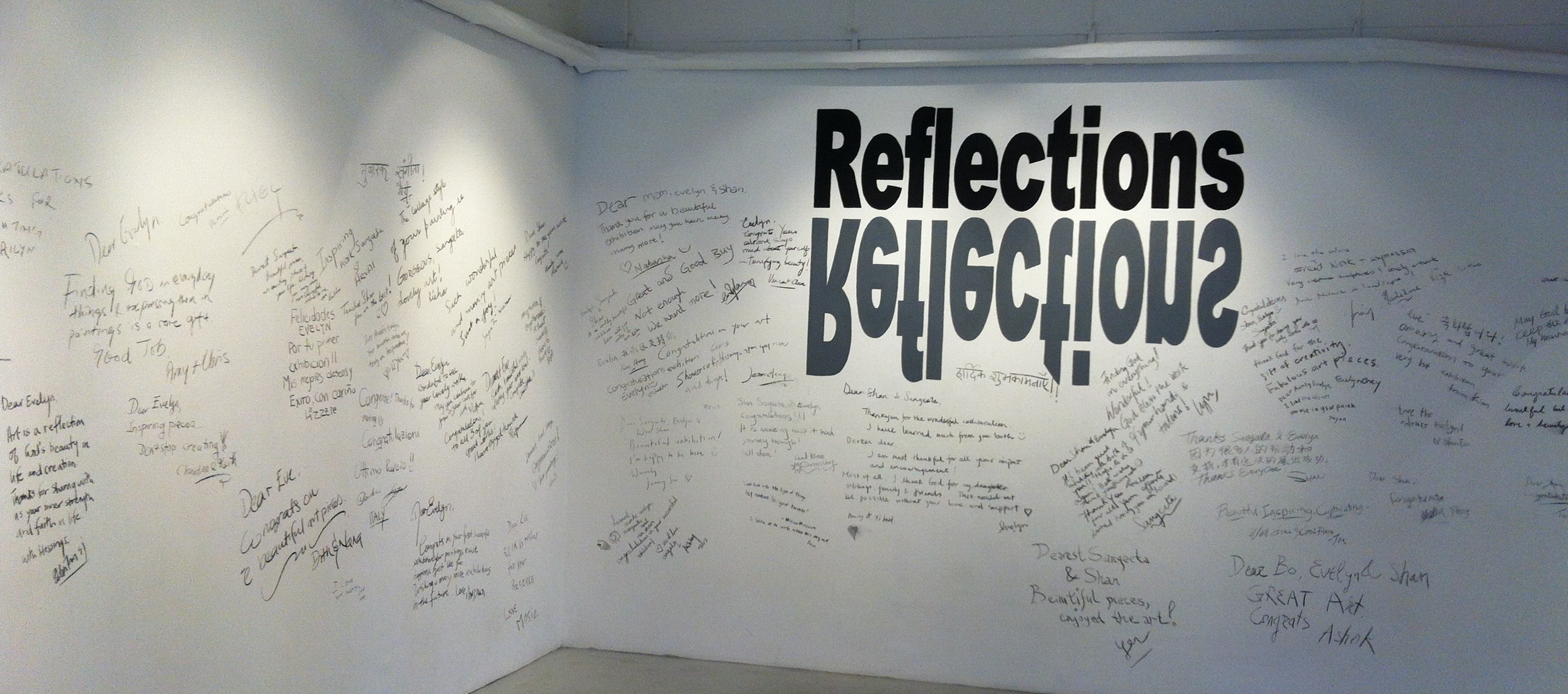 Reflections - exhibition, Singapore.