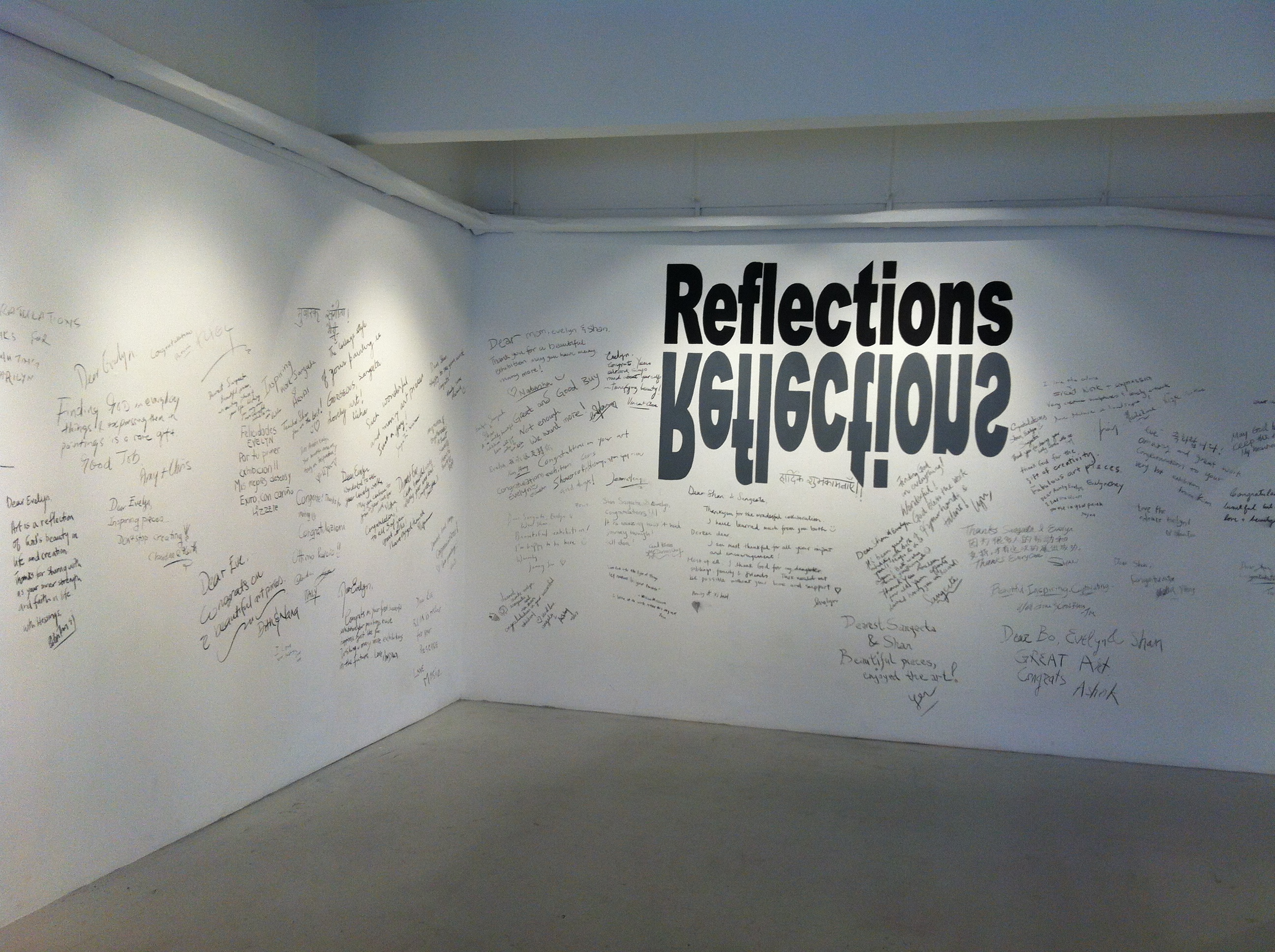 Reflections, Artspace, Singapore 2014.